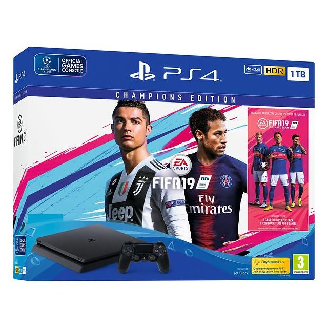 PlayStation PS4 1TB + FIFA 19