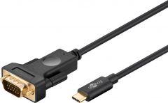 Kabl USB C - VGA 1.8m