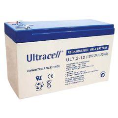 Ultracell akumulator 12V 7.2Ah