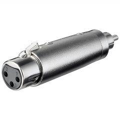 Adapter XLRf - RCAm XLR-3FRCAM