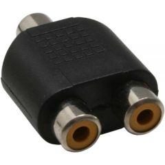 Adapter RCA f - 2x RCA f AC18K