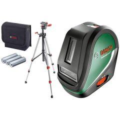Bosch UniversalLevel 3 laser za ukrštene linije set sa stativom