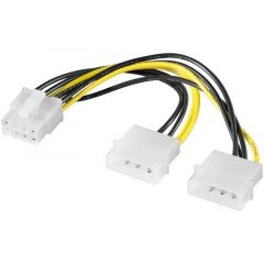 Adapter 2x Molex - 8pin PCI Express 93241