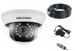 HD komplet za nadzor sa dome kamerom