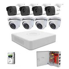 HikVision komplet 8 kamera 2Mpix
