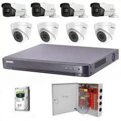 HikVision komplet 8 kamera 5Mpix
