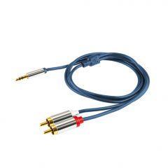 Kabl A49 3.5mm m - 2x RCA m 1m-4m