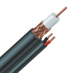 Koaksijalni kabl sa napojnim kablom RG59 100-300m