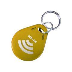 RFID privezak za kontrolu pristupa 125KHz (žuti)