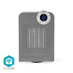 Nedis Wi-Fi Smart Fan Heater Compact Thermostat Oscillation 1800W