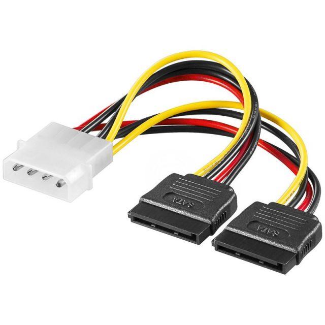 Adapter Molex - 2 x SATA Y Cable-268