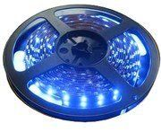 LED traka 30xLED/m,plava-470nm,120lm, 0.6A/12V,10mm LTR5050/30B-12EP