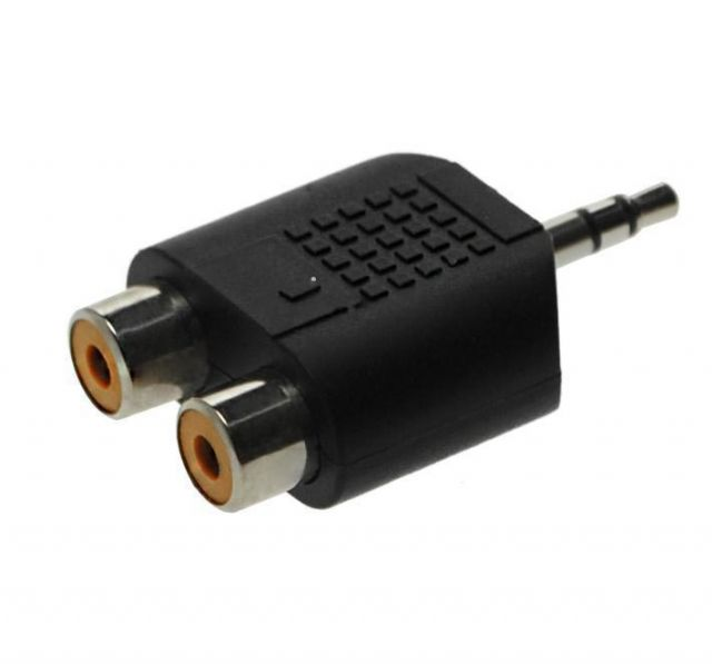 Adapter 3.5mm STm - 2x RCA f AC17