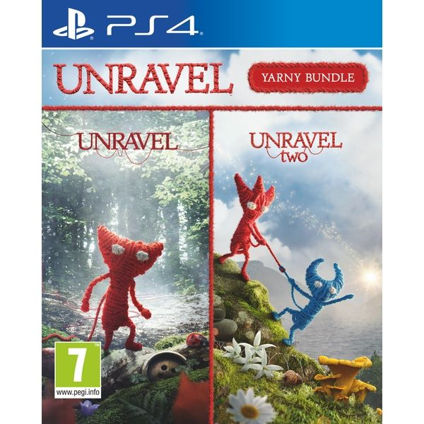 PS4 Unravel Yarney Bundle