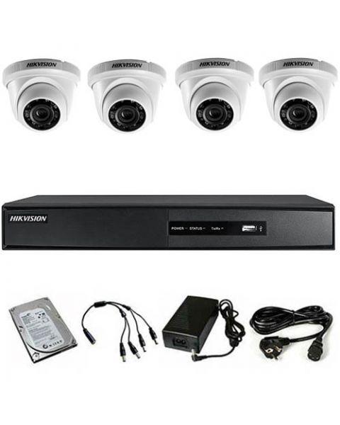 HikVision komplet 4 dome kamere 1Mpix
