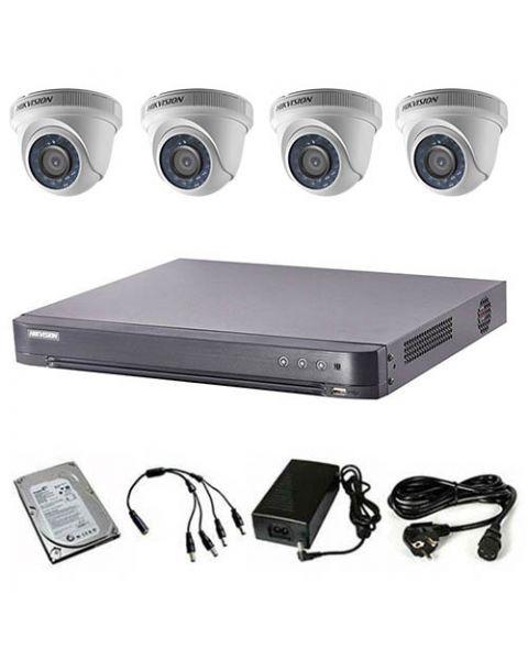 HikVision komplet 4 dome kamere 2Mpix