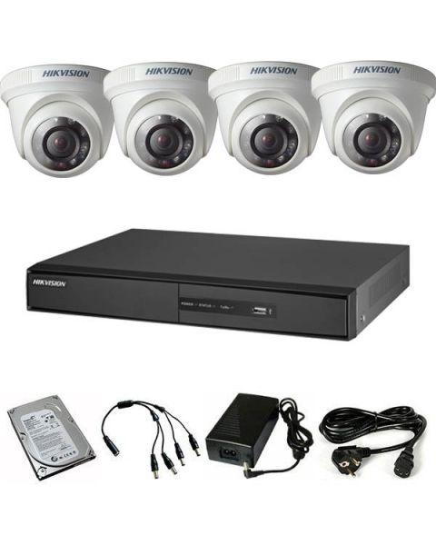 HikVIsion komplet HDTVI HD 4 kamere