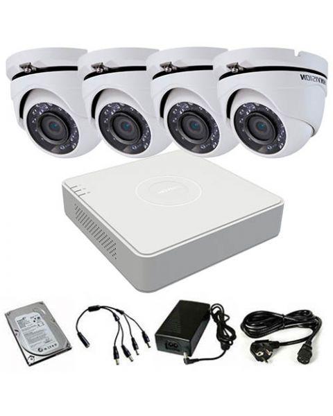 HikVision komplet 4 kamere 2Mpix
