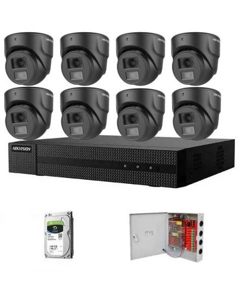 HikVision HDTVI komplet 8 kamera 2Mpix