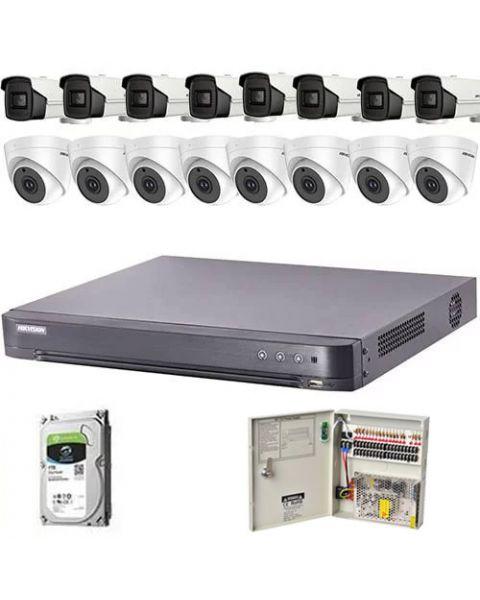 HikVision komplet 16 kamera 5Mpix