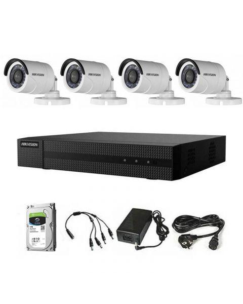 HikVision box komplet 4 kamere 2Mpix