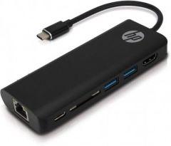 HP multi konekcijski hub USB C - USB - HDMI sa microSD čitačem