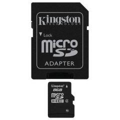 MicroSD 8GB Kingston SDC4/8GB sa adapterom