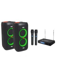 Komplet ozvučenja za karaoke 2x PartyBox 100 + MVN510