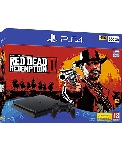 PlayStation PS4 500GB + Red Dead Redemption 2
