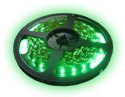 LEDtraka 60xLED/m,zele-520nm,120lm, 0.4A/12V, 8mm LTR3528/60G-12EP