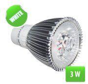 LED sij. spot 3x1W Bela-6400K 270lm 230V/GU10 LSP31W-GU10/3