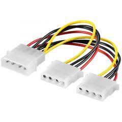 Adapter Molex - 2x Molex napojni (Y spliter) 50684