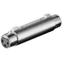 Adapter XLRf - XLRf XLR-3F3F