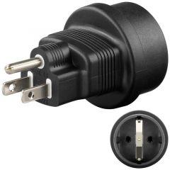 Adapter US/Japan - Schuko 95308