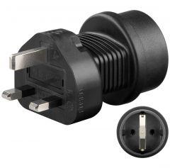 Adapter Schuko - UK 3pin utikač 95307
