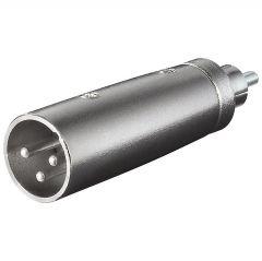 Adapter XLRm - RCAm XLR-3MRCAM