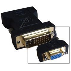 Adapter DVI-D m - VGA f