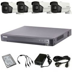 HikVision komplet 4 box kamere 5Mpix