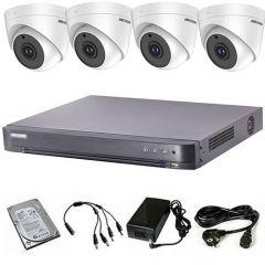HikVision komplet 4 dome kamere 5Mpix