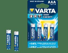 Baterija AAA LR03 Varta High Energy 46817