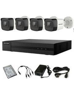 HikVision HDTVI komplet 4 kamere 2Mpix