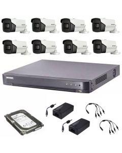 HikVision komplet 8 box kamera 5Mpix