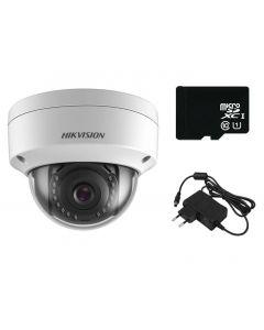 IP komplet za nadzor sa antivandal 2K kamerom