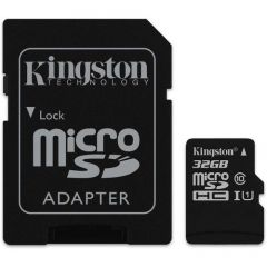 MicroSD 32GB Kingston SDCS/32GB sa SD adapterom