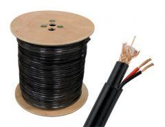 Koaksijalni kabl sa napojnim kablom RG6 305m