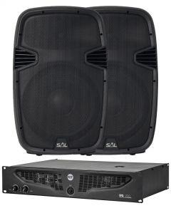 Komplet ozvučenje IPS700 pojačalo i 2x PAX40PRO zvučnici