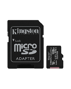 MicroSD 128GB Kingston SDCS2/128GB sa SD adapterom