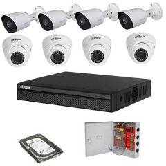Dahua komplet HDTVI Full HD 8 kamera