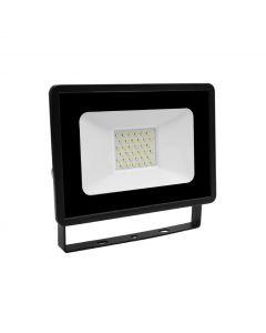 Prosto LED reflektor 30W LRF013EW-30/BK