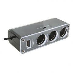 Razdelnik upaljača sa USB punjačem SA023 SAL